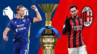 21h00 ngày 7/3: Hellas Verona vs Milan