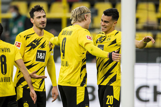 Mục tiêu của Dortmund chỉ là Top 4