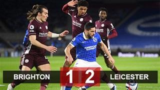 Leicester vượt MU lên nhì bảng sau màn ngược dòng ấn tượng