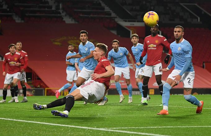 Nếu thắng ở derby Manchester, Man City sẽ tiến gần hơn tới chức vô địch
