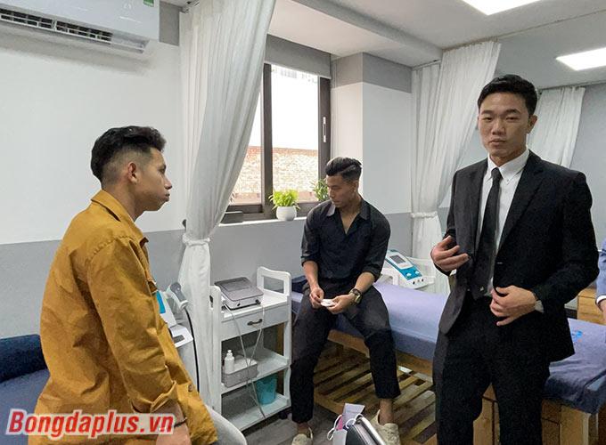 Xuân Trường đầu tư trang thiết bị điều trị vật lý trị liệu hiện đại