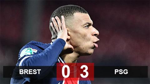 Mbappe lập cú đúp đưa PSG vào vòng 1/8 Cúp Quốc gia Pháp