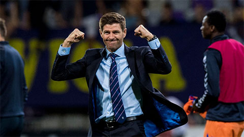 Gerrard giúp Rangers vô địch Scotland sau 9 năm chờ đợi