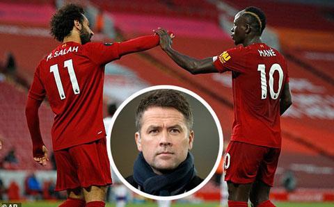 Owen cho rằng Salah và Mane đang mâu thuẫn gay gắt với nhau