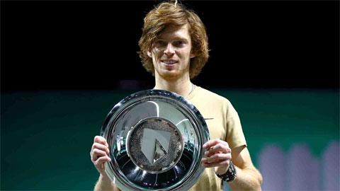 Andrey Rublev vô địch Rotterdam Open 2021