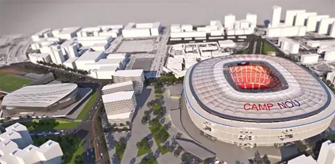 Barca đang có kế hoạch nâng cấp SVD Nou Camp