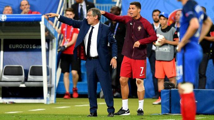 Hình ảnh ấn tượng của Ronaldo trong trận chung kết EURO 2016