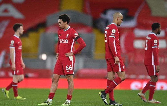 Liverpool đang lún sâu vào khủng hoảng