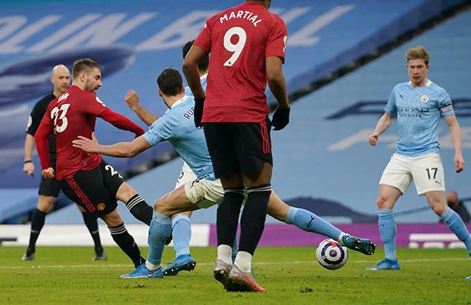 MU đã có chiến thắng ấn tượng trước Man City tại vòng 27
