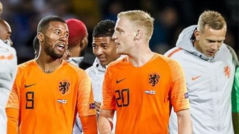 ĐT Hà Lan triệu tập Van de Beek bất chấp 'mất tích' ở MU