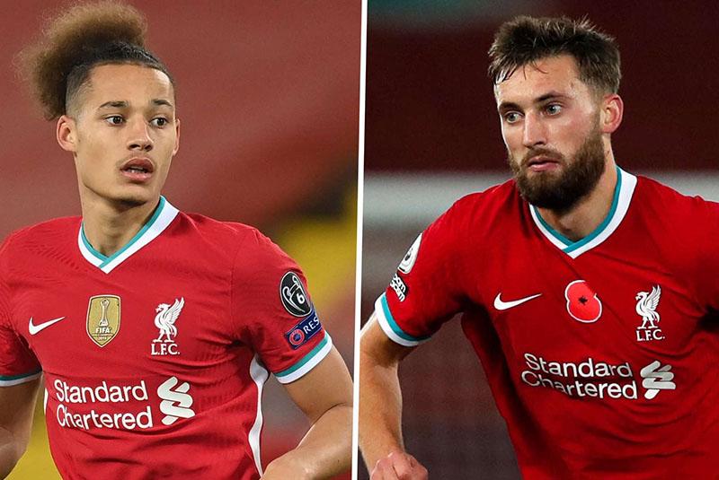Rhys Williams và Nat Phillips là cặp trung vệ mới nhất của Liverpool