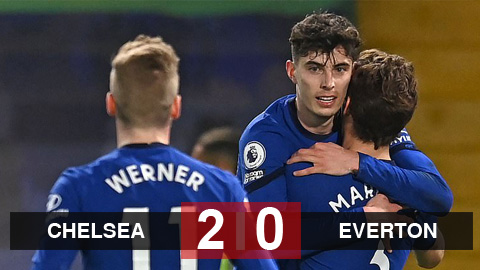 Kết quả Chelsea 2-0 Everton: Havertz tỏa sáng, The Blues giữ vững vị trí thứ 4 - mega 645