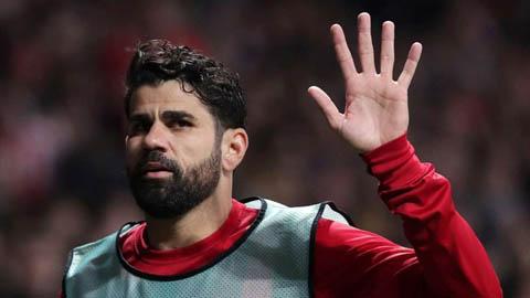 Benfica sẽ giúp Diego Costa thoát cảnh thất nghiệp