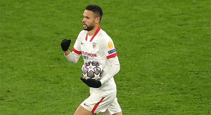 Youssef En-Nesyri lập cú đúp nhưng không giúp Sevilla ngược dòng thành công