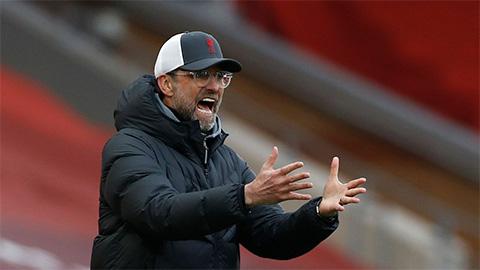 HLV Klopp đau đầu về tình hình nhân sự của Liverpool