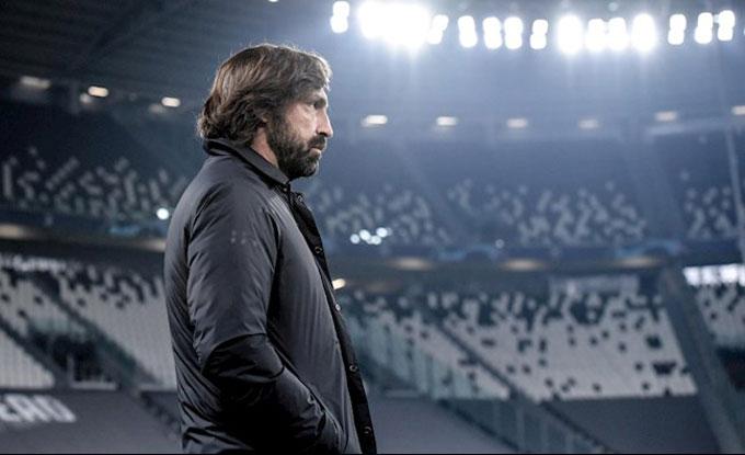 Tương lai của Pirlo tại Juventus cũng đang rất u ám
