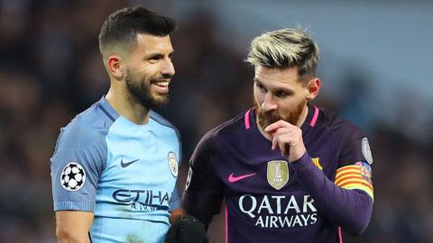 Nhiều khả năng Aguero sẽ đến Barca để tái hợp cùng người bạn thân Messi