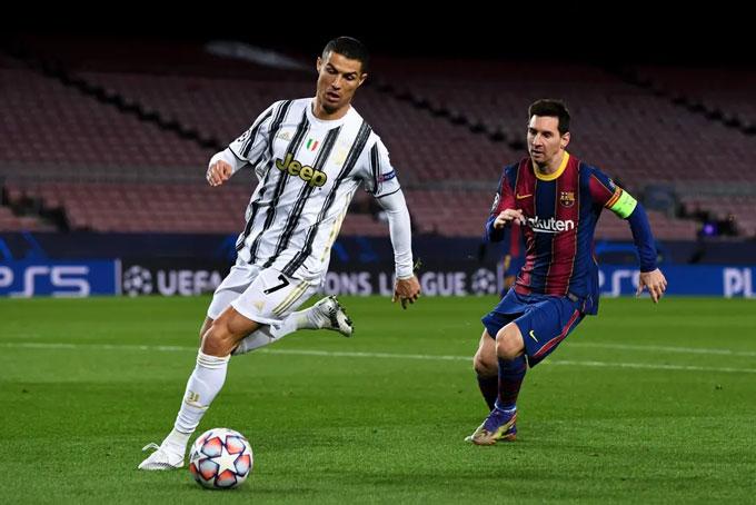 Ronaldo và Messi đã hết thời