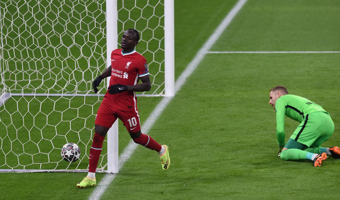 Mane ấn định tỷ số 2-0 trận Liverpool vs Leipzig ở phút 74