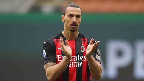 Milan chính thức mất Ibrahimovic ở trận gặp MU