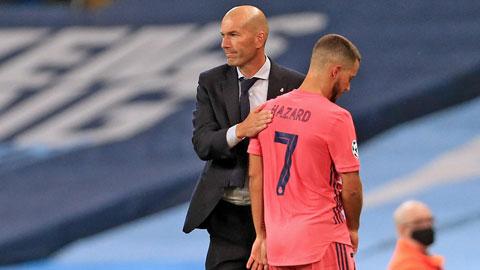 HLV Zidane đối diện nhiều khó khăn ở mùa giải này