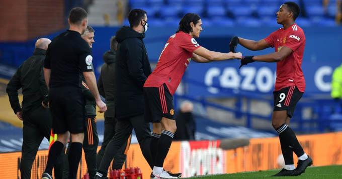 Cavani và Martial đều sẽ rời MU sau khi mùa giải 2020/21 kết thúc?