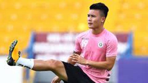 Quang Hải tiếp tục làm khán giả trận Hà Nội vs Thanh Hóa