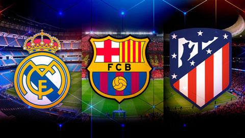 La Liga: Nóng dần cuộc đua tam mã Atletico Madrid, Real Madrid & Barcelona