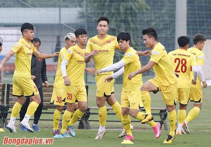 ĐT Việt Nam dự kiến tập trung 34 cầu thủ - Ảnh: Đức Cường
