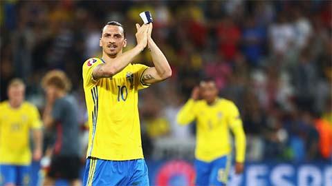 Ibrahimovic trở lại ĐT Thụy Điển sau 5 năm, sẵn sàng dự EURO 2020