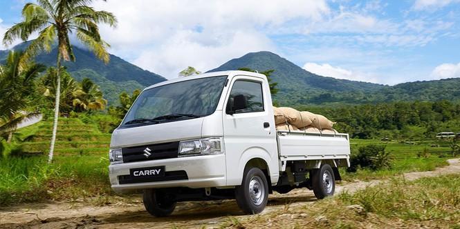 Thiết kế nhỏ gọn, tối đa công năng sử dụng cũng là điểm mạnh tạo nên sức hút của xe Suzuki Carry
