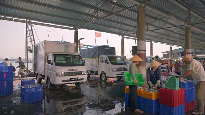 Nhỏ gọn, linh hoạt, các dòng xe tải nhẹ Suzuki Carry phù hợp với nhiều mục đích kinh doanh vận tải khác nhau