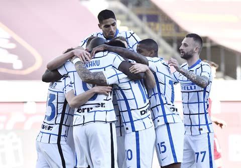 Inter đang nắm rất nhiều lợi thế để có thể vô địch Serie A mùa này