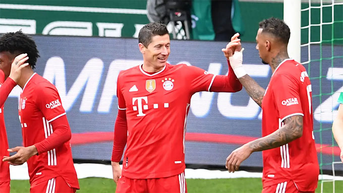 Bayern đã bất bại 18 trận liên tiếp ở Champions League