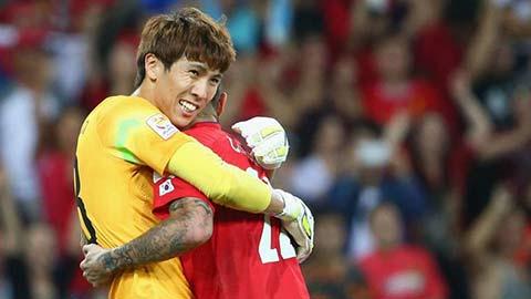 Kình địch của Đặng Văn Lâm được gọi lên tuyển Hàn Quốc