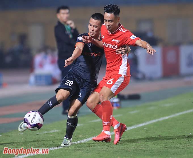 Viettel đã có chiến thắng đầu tiên tại V.League 2021 - Ảnh: Phan Tùng