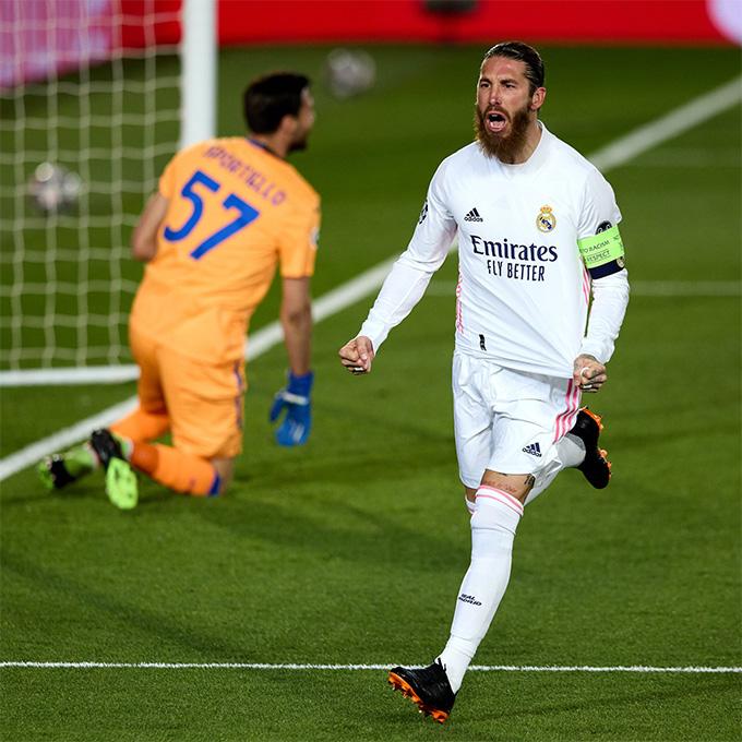 Ramos ghi bàn thứ 101 cho Real