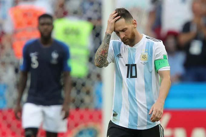 Argentina có Messi nhưng danh hiệu vẫn không đến