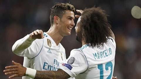 Marcelo gây ra làn sóng tin đồn về Ronaldo