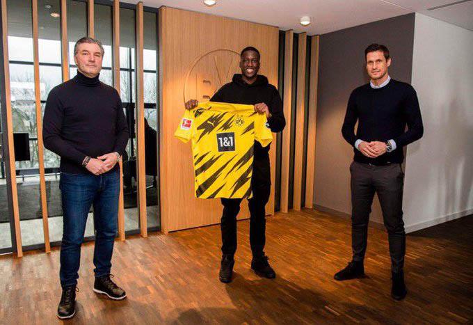 Coulibaly ra mắt Dortmund
