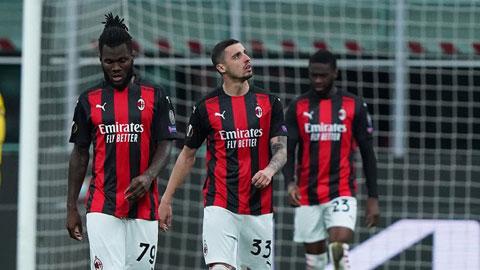 Với việc dừng bước tại cúp châu Âu, Milan chỉ còn phải tập trung vào Serie A