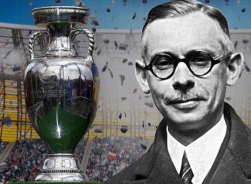 Henry Delaunay và chiếc cúp vô địch mang tên người cha đẻ ra giải đấu EURO