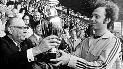 EURO 1972 tạo nên đế chế của người Đức