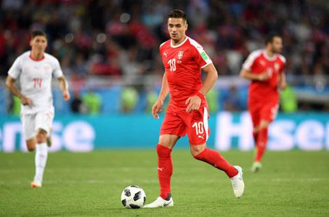 Dusan Tadic đã cùng ĐT Serbia có một kỳ World Cup 2018 rất đáng nhớ trên đất Nga