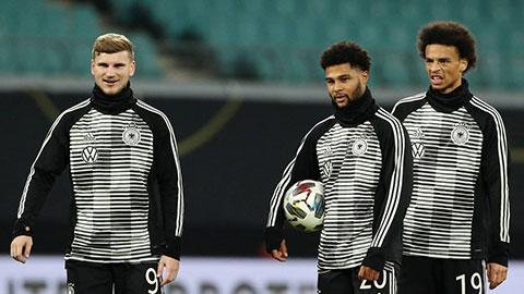 ĐT Đức thị uy sức mạnh trước thềm vòng loại World Cup 2022 và EURO 2020
