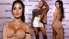 Yazmin Oukhellou gây choáng với váy xẻ hở táo bạo