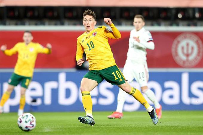 Wilson mở tỷ số trận Bỉ vs Xứ Wales