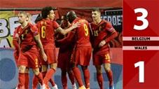 Bỉ  vs Xứ Wales: 3-1 (Bảng E vòng loại World Cup 2022)
