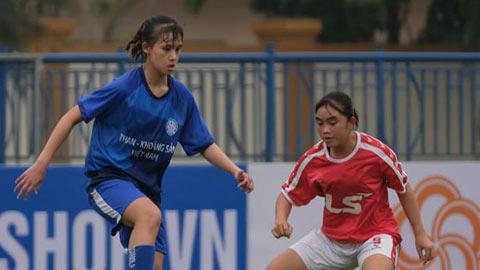 Than KSVN vô địch lượt đi U19 nữ Quốc gia 2021