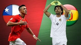 08h00 ngày 27/3: Chile vs Bolivia